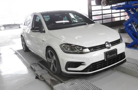 VW ゴルフ7.5-R APR ECUアップグレード&TCUアップグレードインストール!!