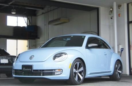 VW フォルクスワーゲン THE BEETLE ザ・ビートル US純正フロントサイドマーカー&アイバッハ ダウンサスペンション プロキット取り付け!!