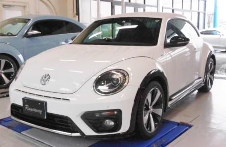 VW ザ・ビートル THE BEETLE 1.4TSI R-LINE 純正3連メーター取り付け!!