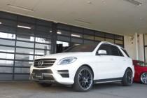 MercedesBenz メルセデスベンツ W166 ML350 H&R ダウンサス(スポーツスプリング)取り付け!!