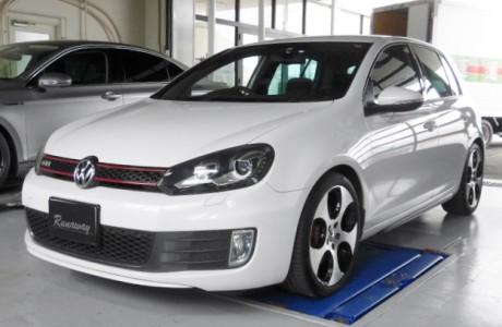 VW GOLF6 ゴルフⅥ GTI KW Ver1 取り付け!!