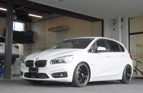 BMW F45 320d アクティブツアラー KW ストリートコンフォート&cpm取り付け!!