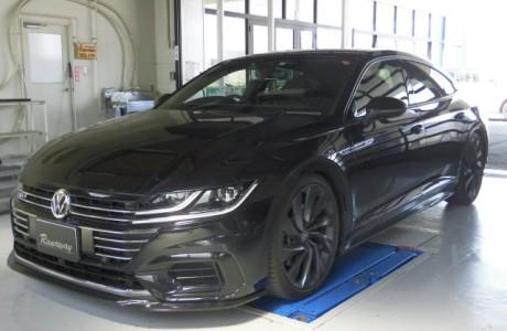 VW ARTEON アルテオン R-LINE アイバッハ製 スタビライザー&034 モータースポーツ製 スタビエンドリンク取り付け!!
