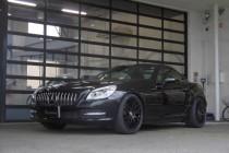 メルセデスベンツ MercedesBenz R172 SLK200 オリジナル ビックブレーキキット&ビルシュタインB4KIT&H&Rダウンサスペンション取り付け!!