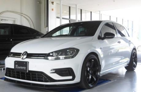 VW GOLF-R MK7.5 ゴルフ7.5-R APR エンジンパーツ&FORGE ディバーターバルブ取り付け!!