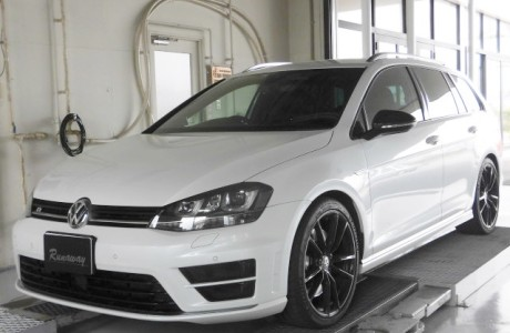 VW フォルクスワーゲン GOLF-R MK7 ゴルフ7-R ヴァリアント APR ECU/TCUチューニング&APR イグニッションコイル&エアーフィルター&点火プラグ交換!!