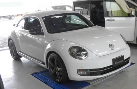 VW THE BEETLE ザ・ビートル 2.0TSI APR ECUチューニング& K&Nエアークリーナー&NGKレーシングプラグ交換!!