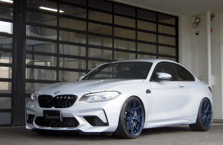 BMW M2 F87 コンペティション VOSSEN(ヴォッセ) HF-5 20インチ&KW Ver3&低ダストブレーキパッド交換&テールレンズスモーク塗装!!