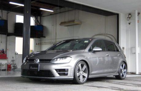 VW フォルクスワーゲン GOLF-R MK7 ゴルフⅦ-R レーシングライン VWR スポーツスプリングキット&VAP SRP取り付け!!