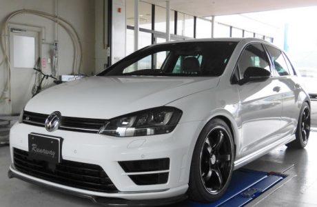 VW フォルクスワーゲン ゴルフⅦ-R GOLF-R MK7 リチウムイオンバッテリーMEGA・LiFe Battery(メガライフバッテリー)取り付け!!
