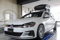 VW フォルクスワーゲン GOLF7.5 ゴルフⅦ GTI REMUS レムス キャタバックマフラー取り付け!!