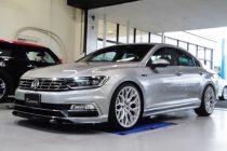 VW フォルクスワーゲン PASSAT パサート B8 R-LINE INGO NOAK TUNING フロントリップスポイラー取り付け!!