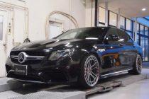 メルセデスベンツ AMG W213 E43 FOGIAGO カーボンエアインテーク&RENNtech(レンテック) ブローオフバルブアダプター装着!!