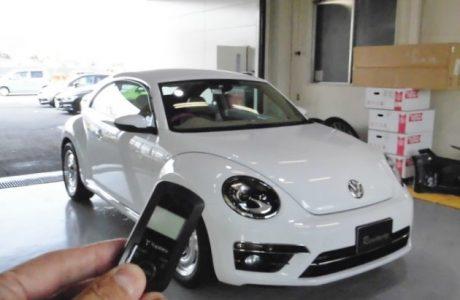 VW フォルクスワーゲン THE BEETLE ザ・ビートル プッシュスタート車両 エンジンスターター取り付け!!
