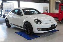 VW ザ・ビートル THE BEETLE 2.0TFSI RST カーボンステアリング取り付け!!
