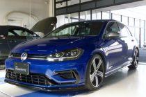 VW GOLF-R MK 7.5 ゴルフ7.5-R RSTカーボンステアリング装着!!