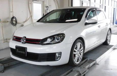 VW フォルクスワーゲン GOLF6 ゴルフⅥ GTI APR ECUチューニング ステージ1インストール!!