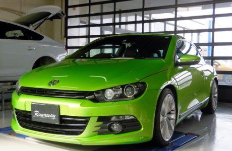 VW sirocco シロッコ 2.0TFSI リチウムイオンバッテリーMEGA・LiFe Battery(メガライフバッテリー)取り付け!!