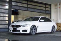BMW F32 4シリーズ 420i クーペ H&R スポーツスプリング(ダウンサスペンション)取り付け!!