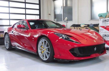 Ferrari フェラーリ 812 SUPER FAST スーパーファースト ボディコーテイング施工!!