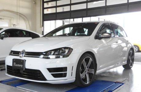 VW GOLF7-R リチウムイオンバッテリーMEGA・LiFe Battery(メガライフバッテリー)取り付け!!