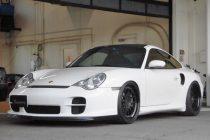 ポルシェ PORSCHE 996(911) TURBO S 3SDM FORGED WHEEL 3.41 19インチ&チタンボルト取り付け!!
