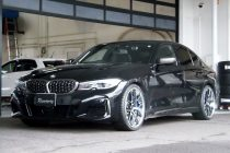 BMW G20 M340i xdrive BBS RI-S 20インチ&アイバッハ スプリングキット取り付け!!