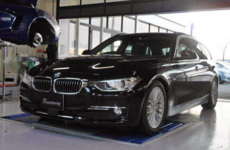 BMW F31 320d ツーリング グループM ラムエアインテークキット取り付け!!