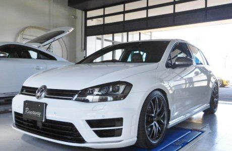 VW ゴルフ7-R BELLOF ベロフ製 新商品!!純正HID交換用 オプティマル LED パフォーマンスバルブ取り付け!!