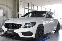 メルセデス・ベンツ Mercedes-Benz  AMG C43 W205 MST PERFORMANCE パフォーマンス エアインテークキット取り付け!!