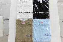 Runaway Tシャツ販売開始!!
