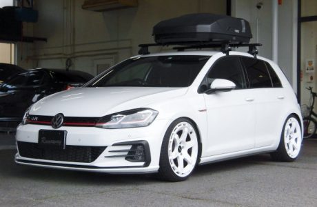 VW GOLF7.5 ゴルフ7.5 GTI BC Racing BR COILOVER KIT RA-TYPE extreme  low 取り付け!!
