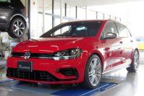 VW GOLF-R MK7.5 ゴルフ7.5-R ミルテックスポーツ キャタバックマフラー取り付け!!